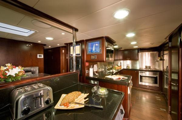 Saloon Aboard Yacht LUDYNOSA G