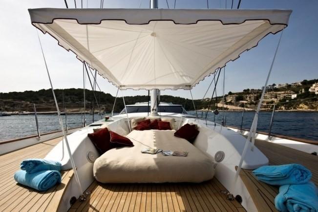Deck On Yacht LUDYNOSA G