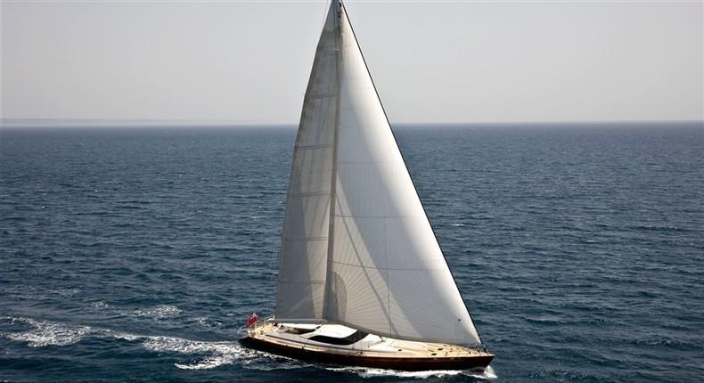 With Full Sailing On Board Yacht LUDYNOSA G