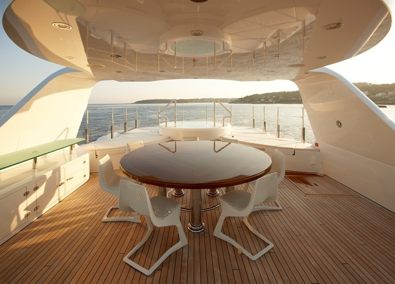 External Eating/dining On Yacht NORTHLANDER