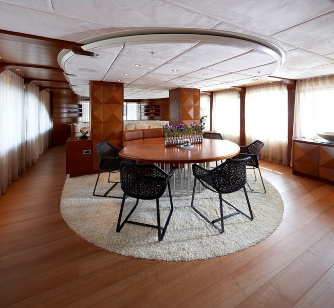 Meeting Furniture On Yacht NORTHLANDER