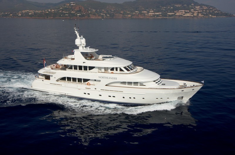 Overview: Yacht NORTHLANDER's Cruising Photograph