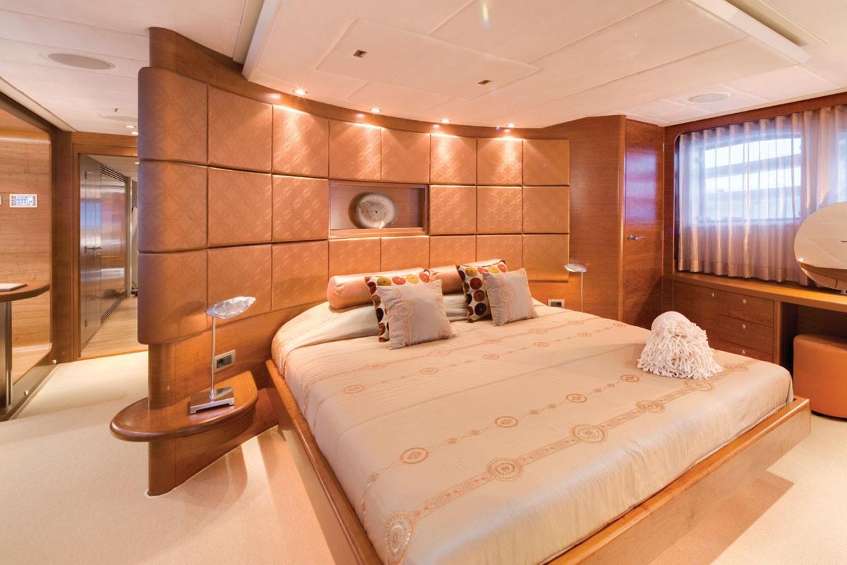 Main Master Bedroom On Board Yacht NORTHLANDER