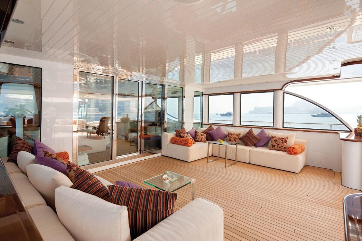 Top Deck On Board Yacht NORTHLANDER