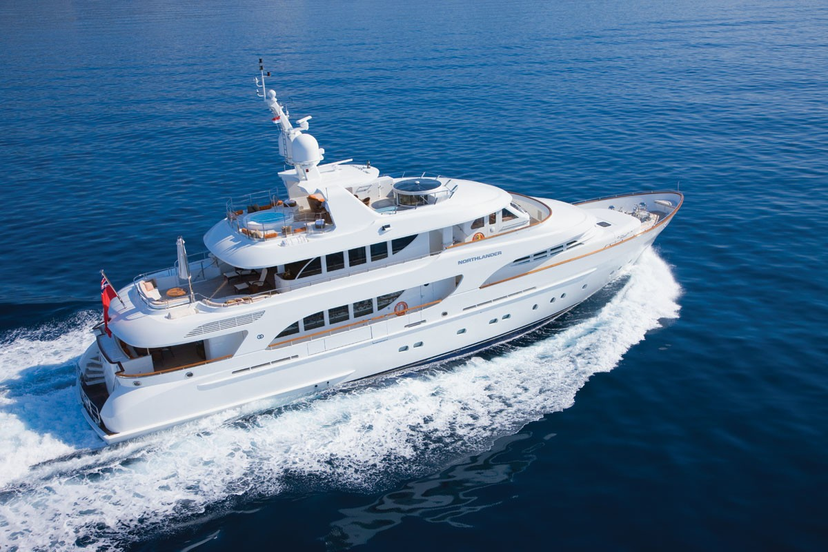 Profile: Yacht NORTHLANDER's Cruising Image