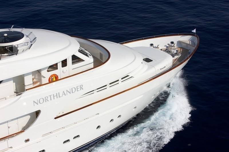 Detail: Yacht NORTHLANDER's Cruising Pictured