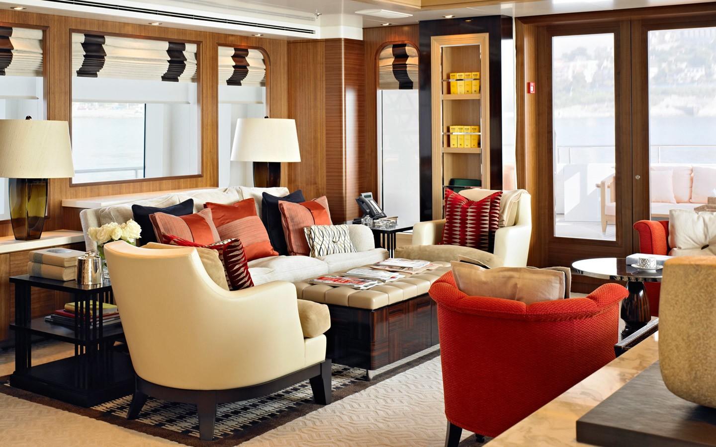 Premier Saloon On Yacht KATHLEEN ANNE