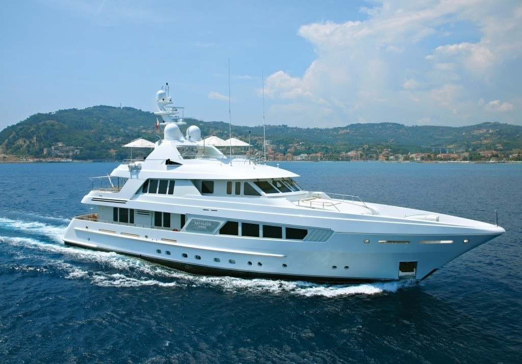 Overview: Yacht KATHLEEN ANNE's Cruising Pictured