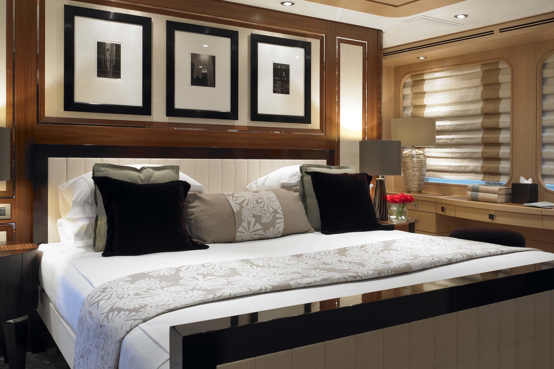 Main Master Cabin Aboard Yacht KATHLEEN ANNE