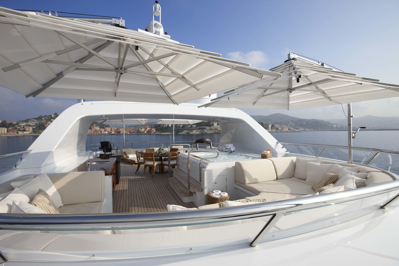 Sun Deck On Board Yacht KATHLEEN ANNE