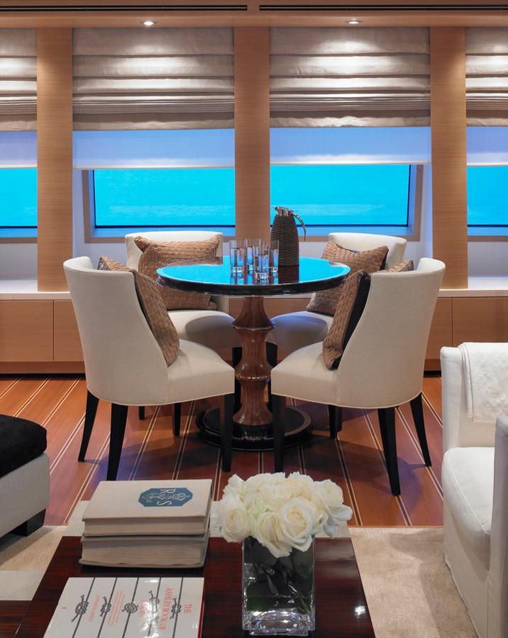 Saloon On Yacht KATHLEEN ANNE