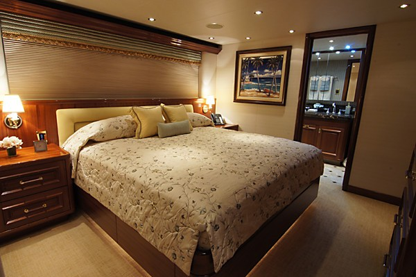 Starboard Side VIP Cabin On Yacht MILK MONEY