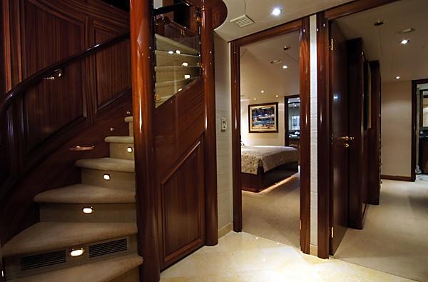 Hall On Board Yacht MILK MONEY