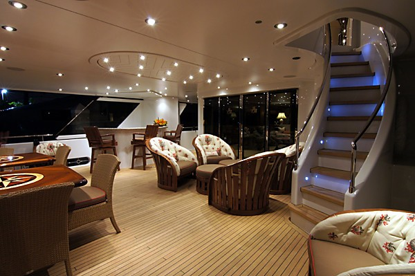Premier Deck Aft On Yacht MILK MONEY