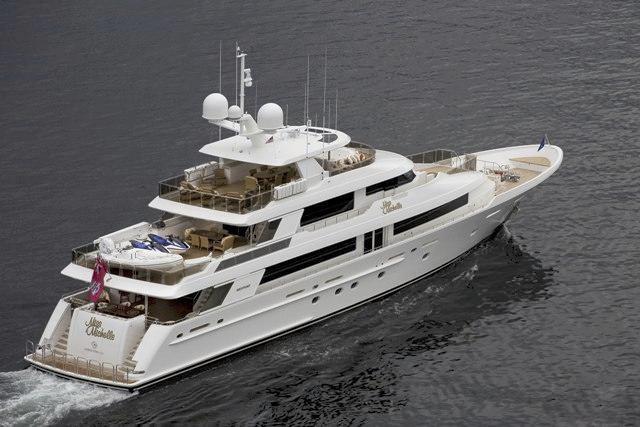 Aft Aspect: Yacht MILK MONEY's Cruising Captured