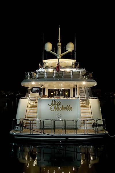 Evening: Yacht MILK MONEY's Aft Photograph