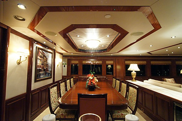 Eating/dining Furniture On Board Yacht MILK MONEY