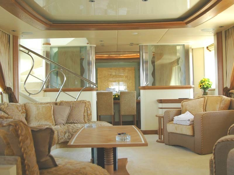 Saloon On Yacht CARMEN FONTANA