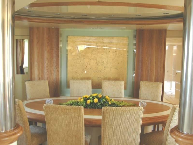 Eating/dining Furniture On Board Yacht CARMEN FONTANA