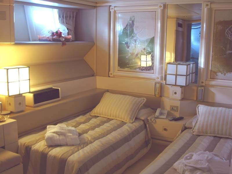 Twin Bed Cabin On Yacht CARMEN FONTANA
