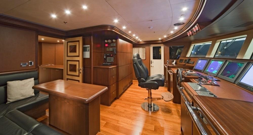 Bridgedeck On Board Yacht GOLDEN HORN