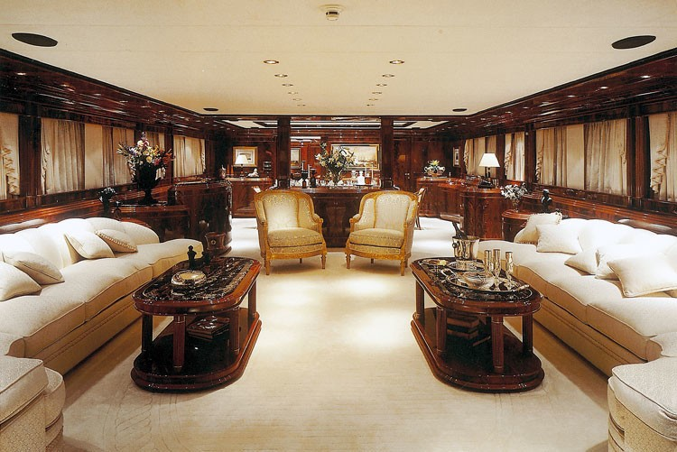 Saloon On Yacht JAAN