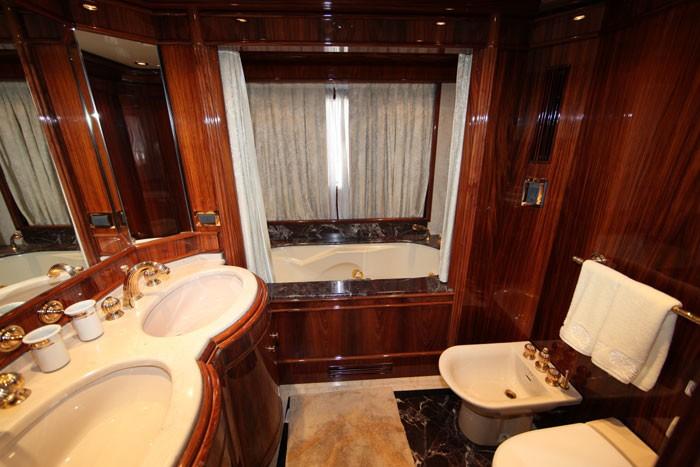 Wc Aboard Yacht JAAN