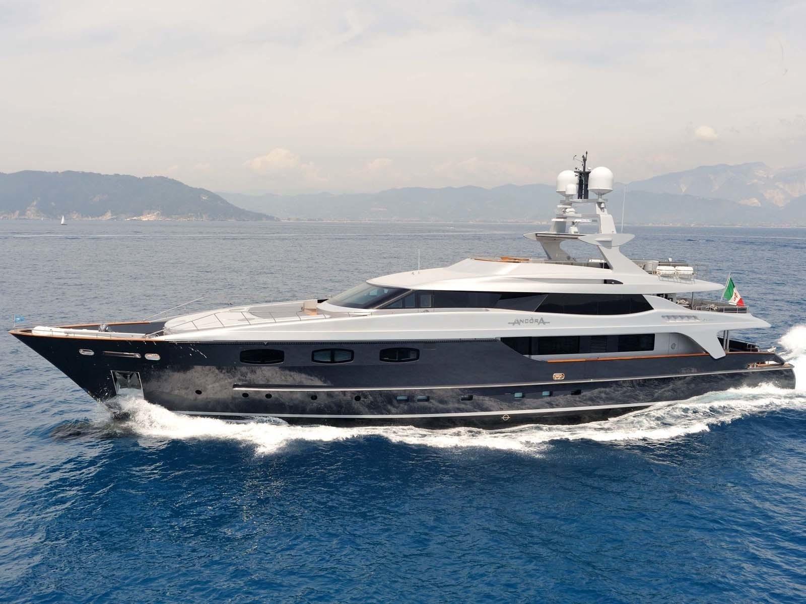 ira yacht charter details  baglietto