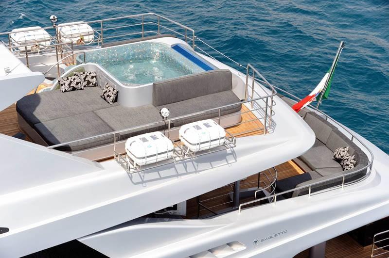 The 43m Yacht MI VIDA