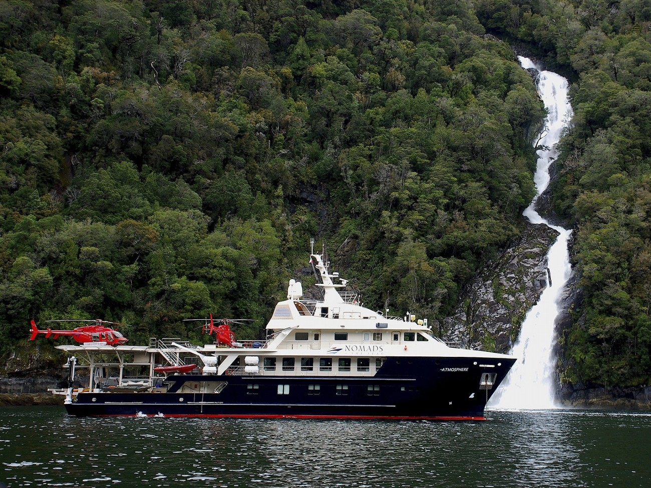Landscape Aspect On Board Yacht ATMOSPHERE
