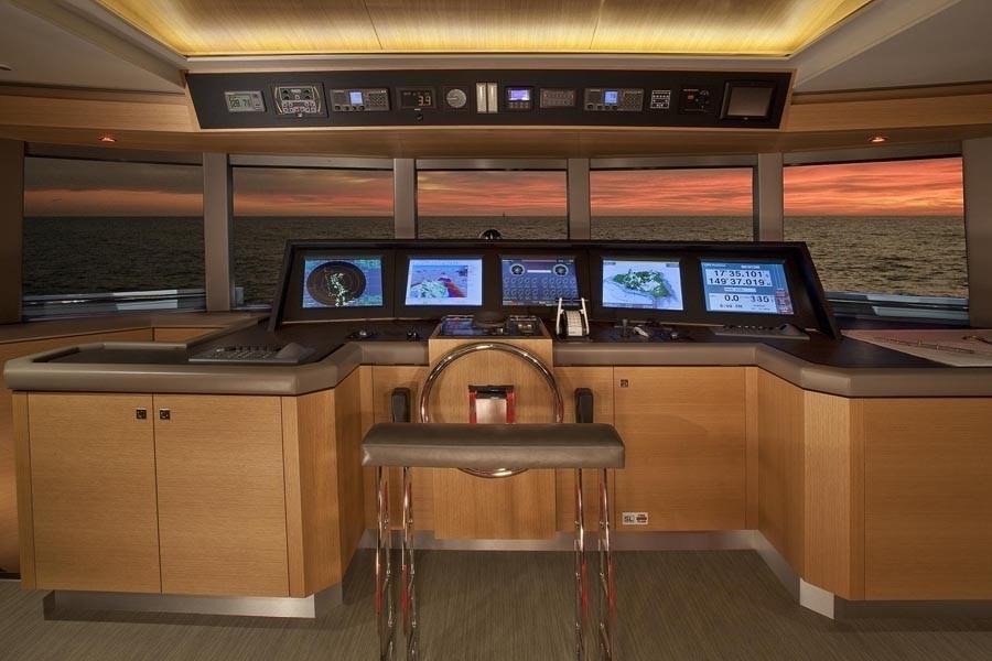 Bridgedeck On Yacht BIG FISH