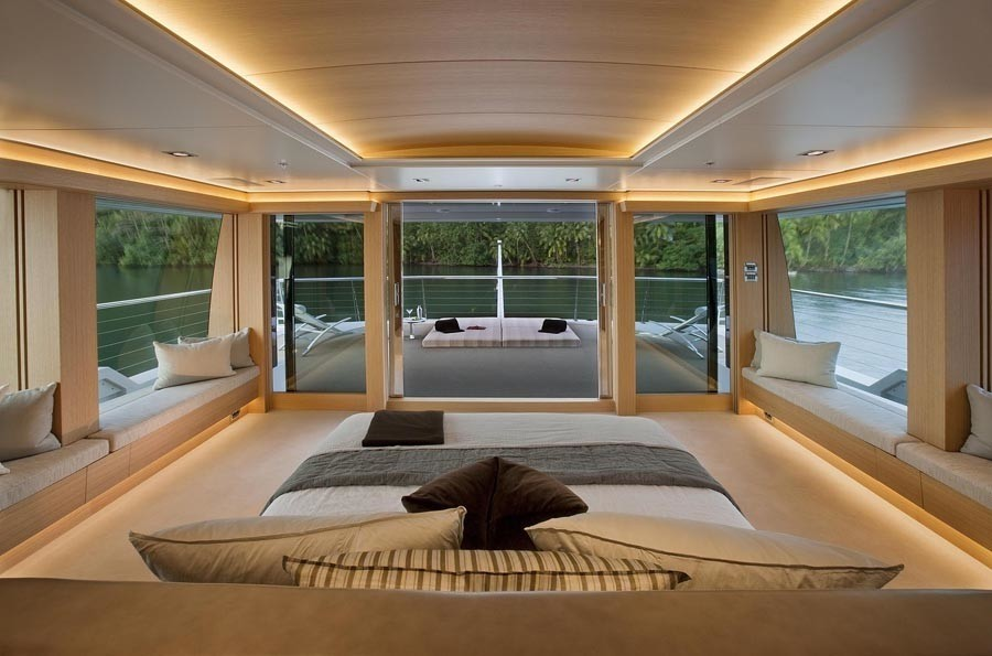 Main Master Cabin On Yacht BIG FISH