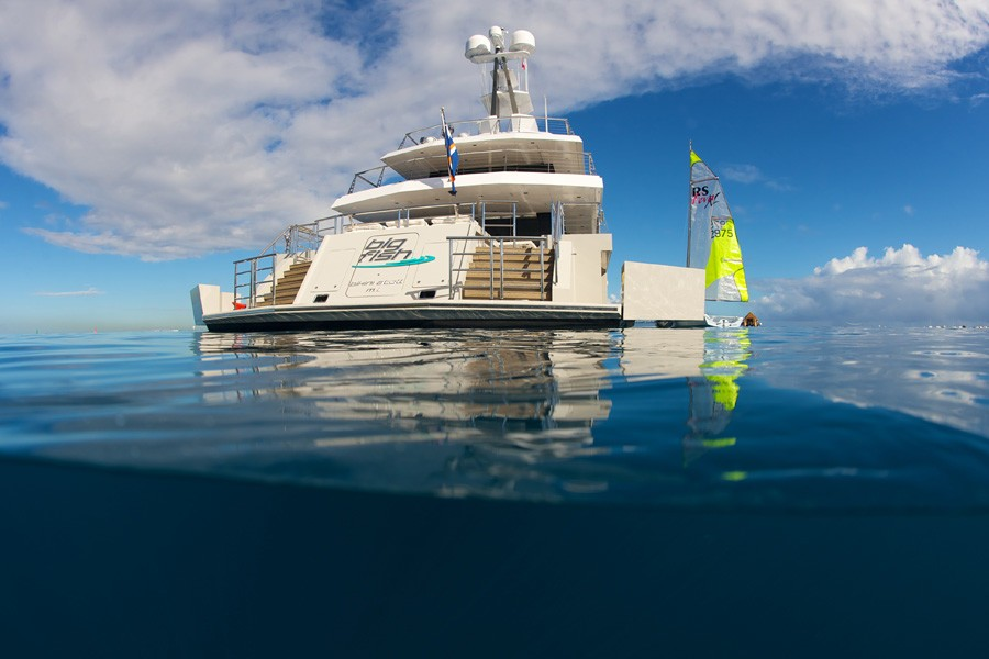 Profile On Board Yacht BIG FISH