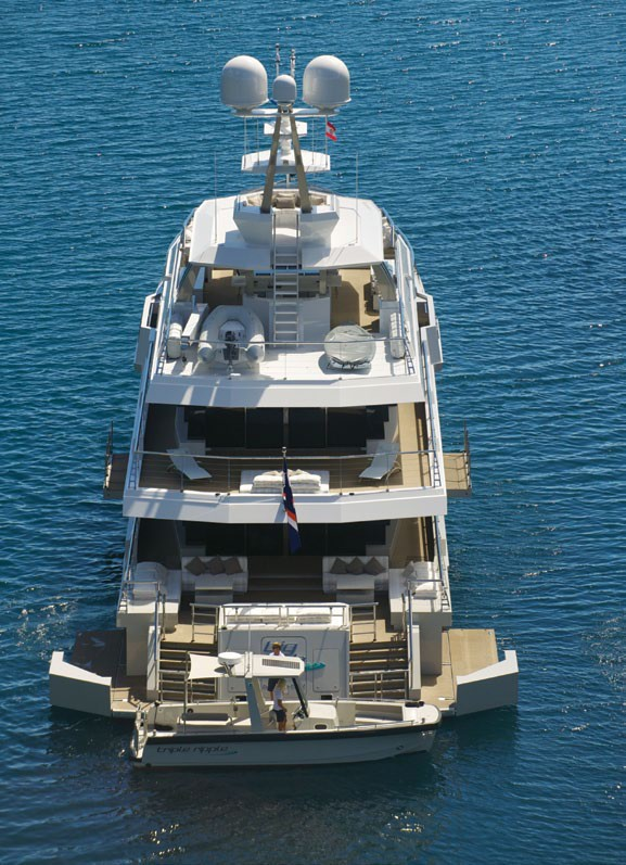 Aft Decks On Yacht BIG FISH