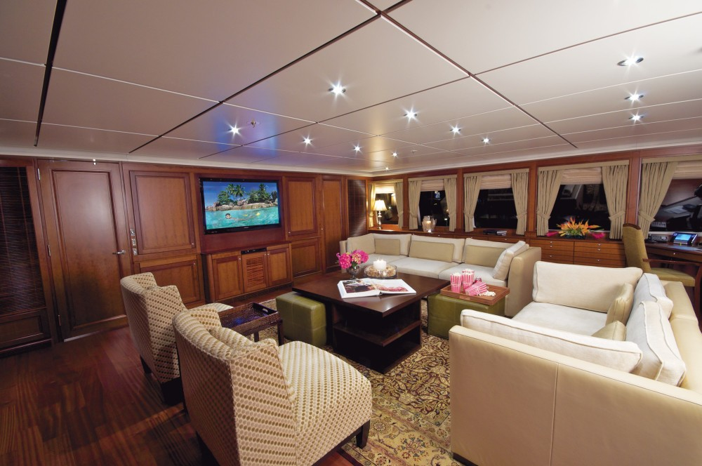 Top Deck Saloon On Yacht YOU & ME