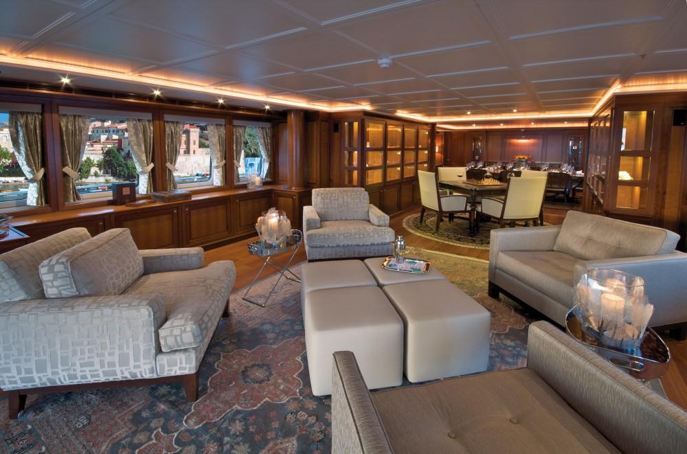 Premier Saloon On Board Yacht YOU & ME