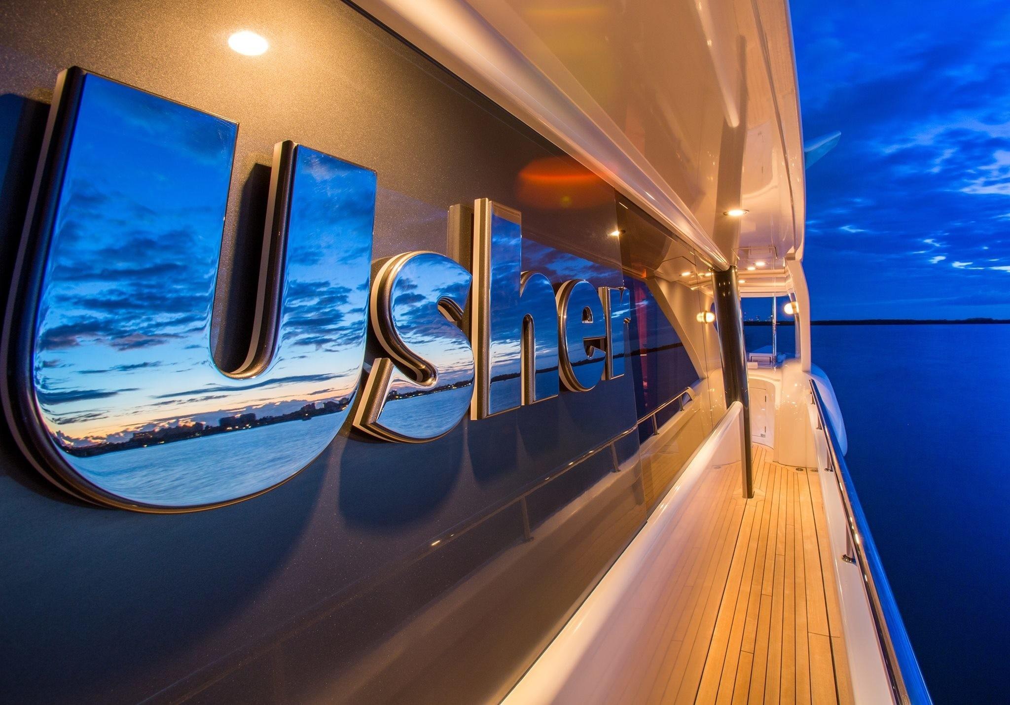The 46m Yacht USHER