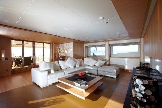Top Saloon Aboard Yacht ALKHOR
