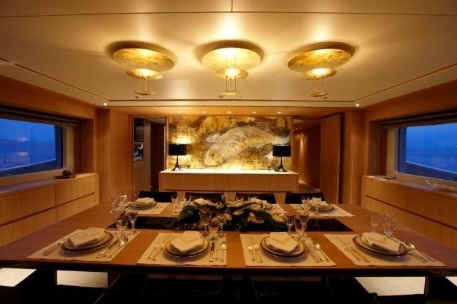 Eating/dining Furniture On Yacht ALKHOR