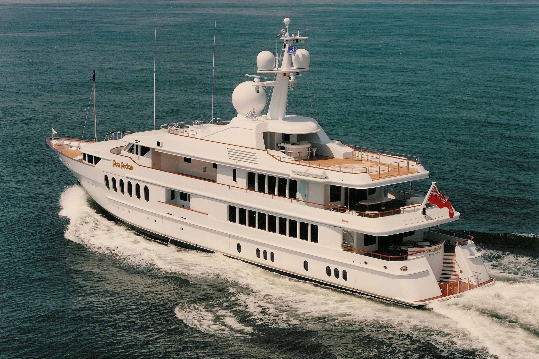 Cruising On Board Yacht HUNTRESS II