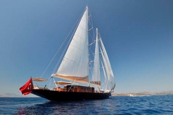 Aft Aspect On Board Yacht REGINA