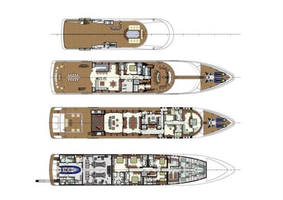 The 58m Yacht SKYFALL