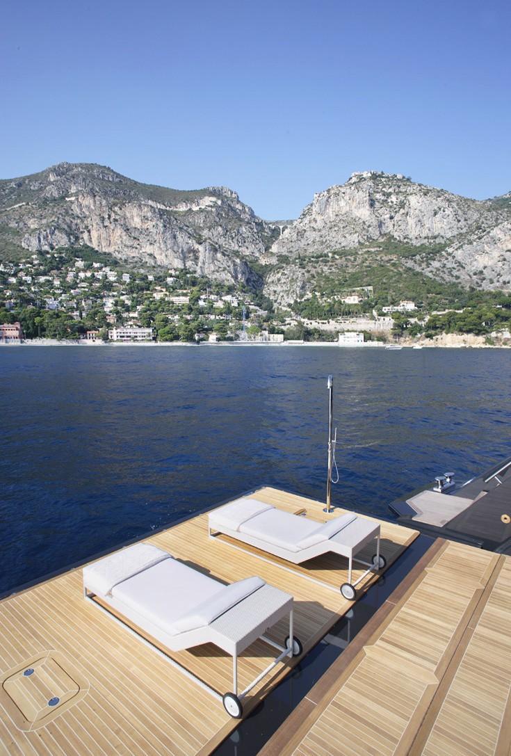 Swim Landing On Yacht ICON