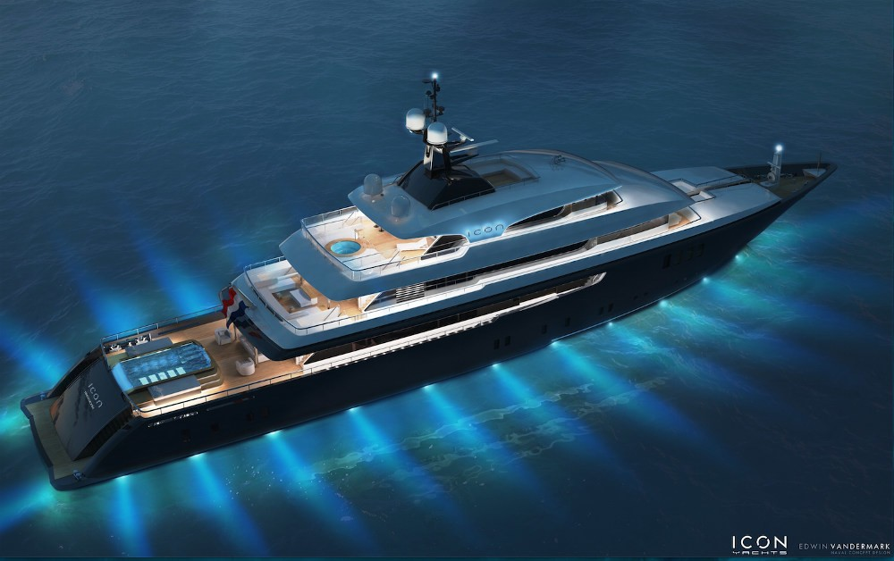 The 68m Yacht ICON