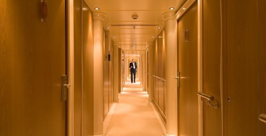 Hallway On Yacht ELEGANT 007