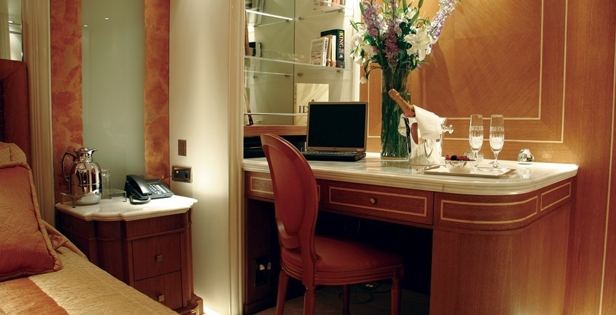 Work Desk: Yacht ELEGANT 007's Guest's Cabin Photograph
