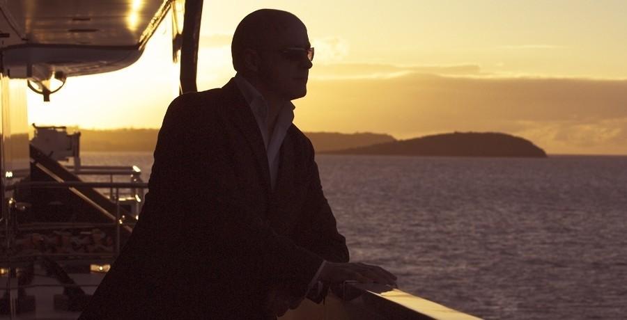 Sunset Dusk Aspect Aboard Yacht ELEGANT 007