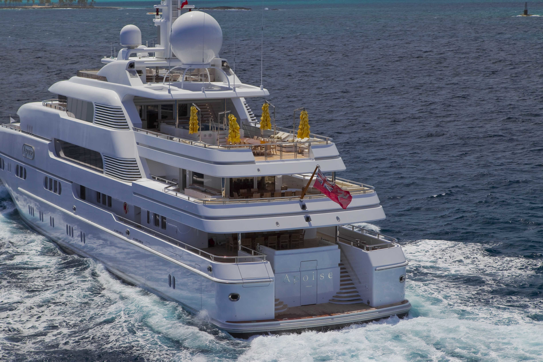 Aft Aspect: Yacht TITANIA's Cruising Captured