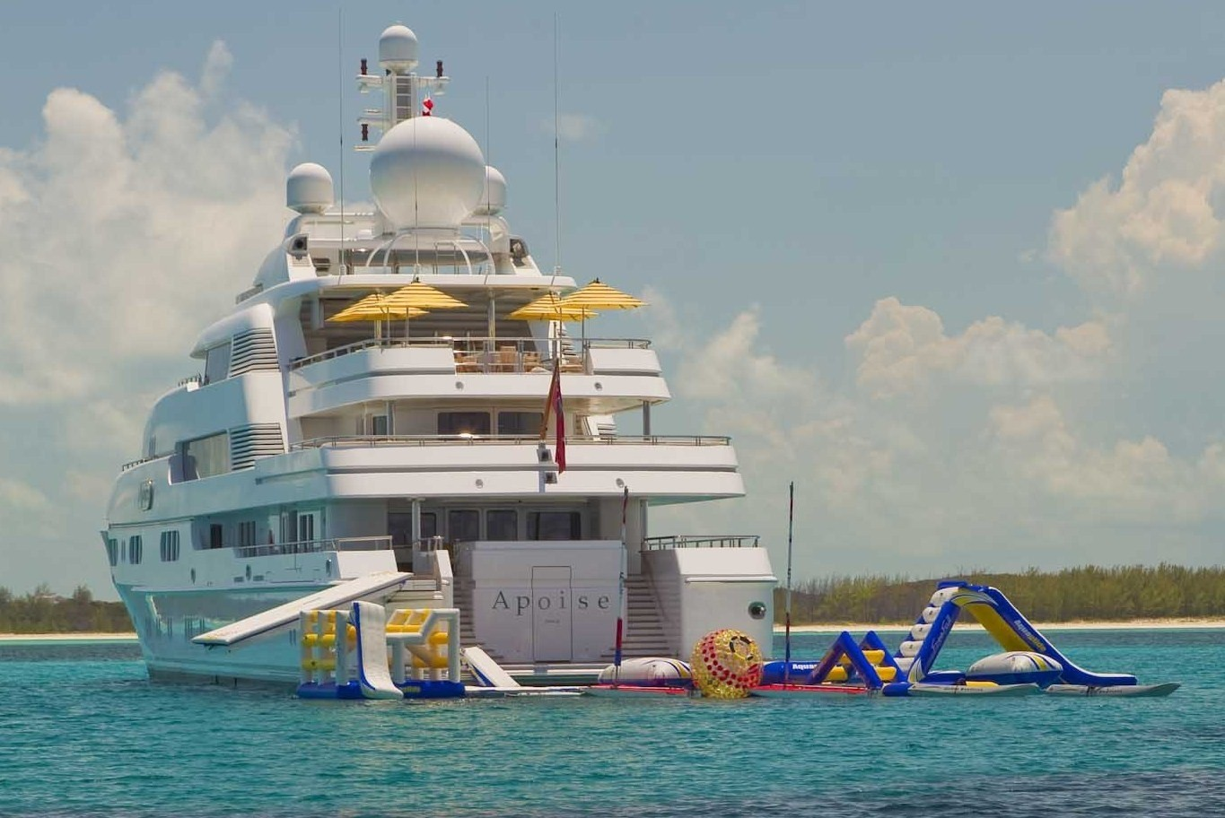 Water Park: Yacht TITANIA's Anchorage Image