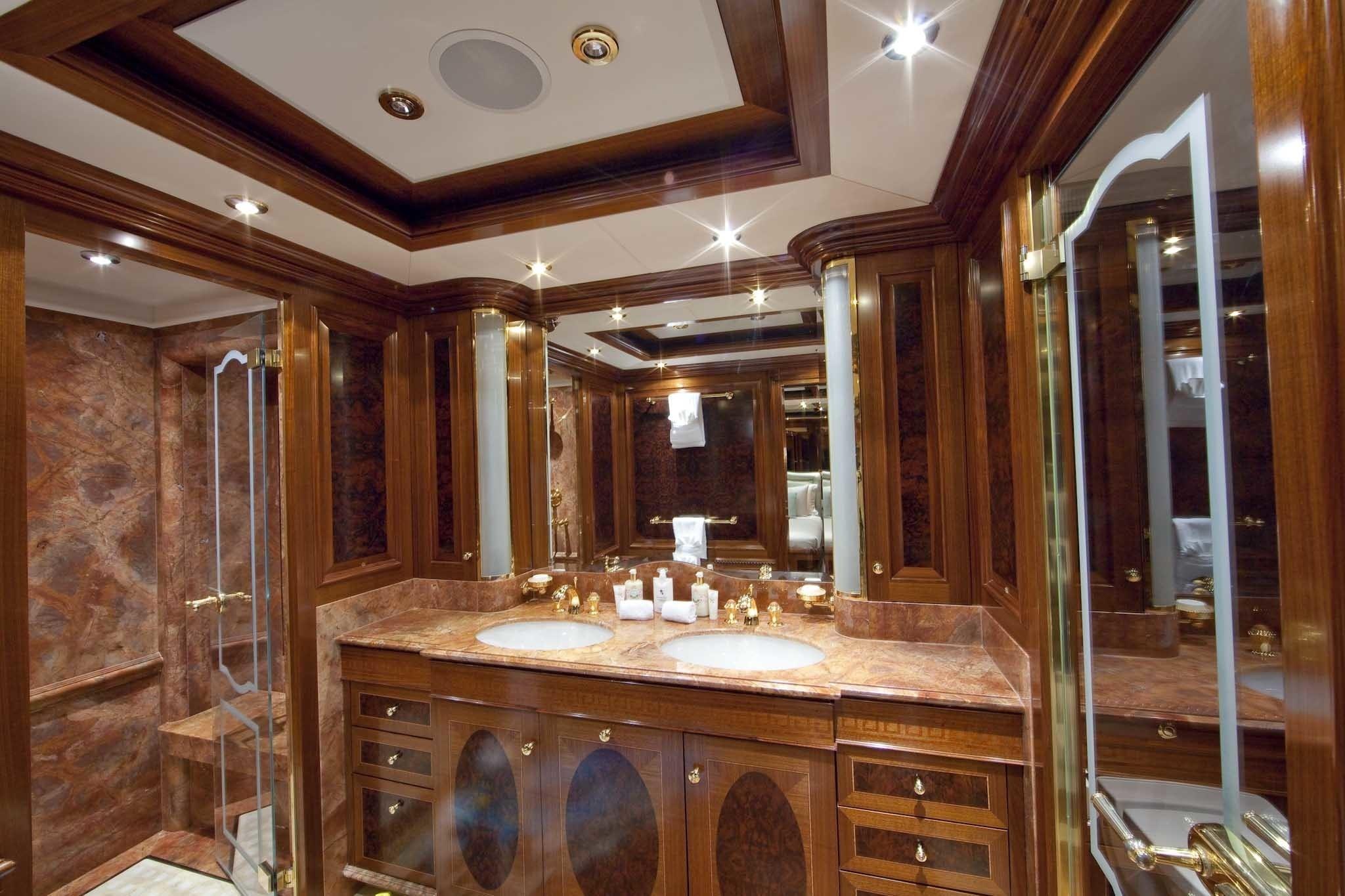 Personal Bath On Board Yacht TITANIA